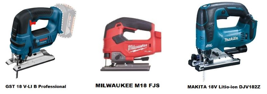 comparativa caladoras bosch makita milwaukee